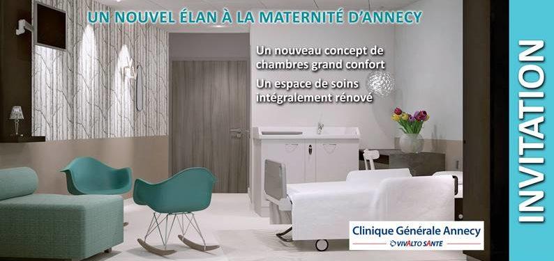 INVITATION – Un nouvel élan à la matérnité d'Annecy