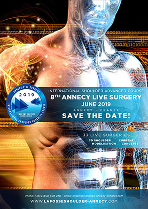 8th Annecy Live Surgery, June 6-7-8, 2019